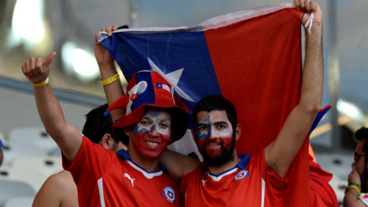 Brasil-Chile e hinchas de la Roja entre lo mejor del mundial
