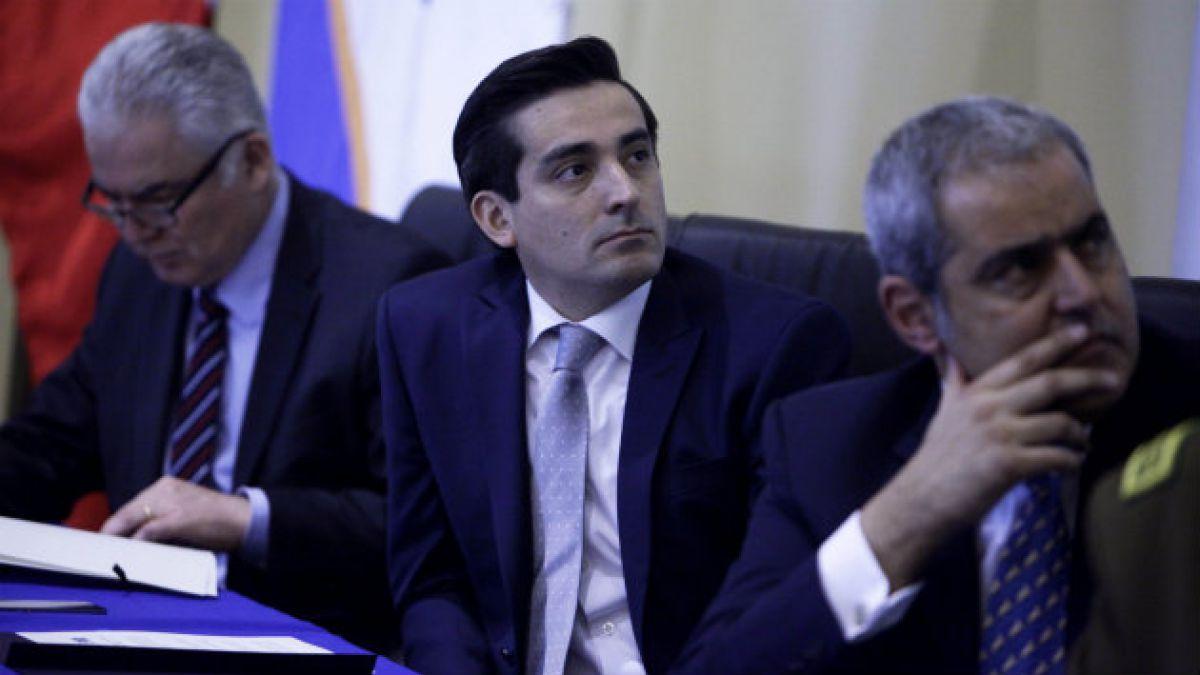 Ministro Peñailillo: En este caso se ha justificado plenamente la utilización de la Ley Antiterrori