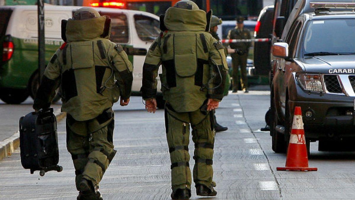 GOPE confirma que artefacto en Liceo de Aplicación no era una bomba