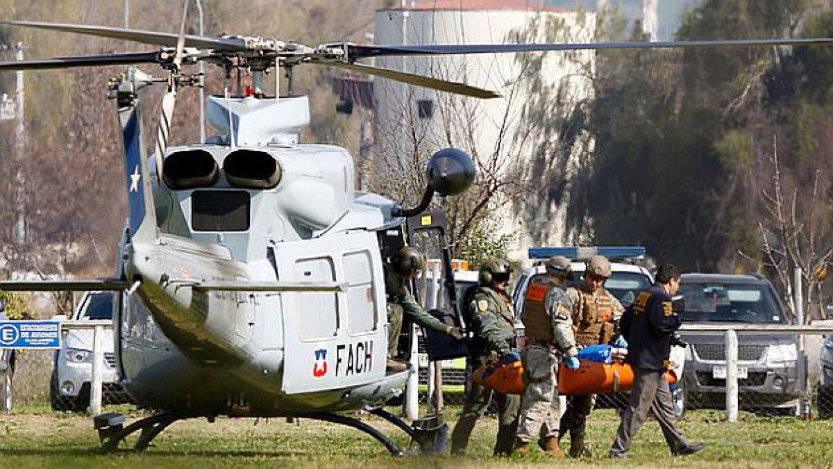 Fach confirma rescate de los dos cuerpos tras accidente aéreo en Melipilla