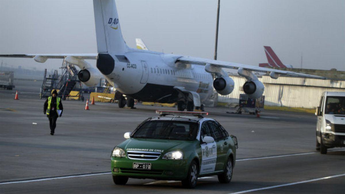 Director del Aeropuerto de Pudahuel admite que zona no contaba con seguridad a la hora del asalto