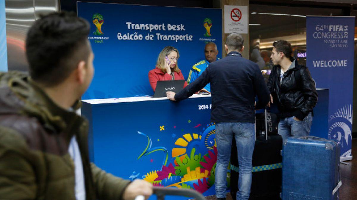 Trabajadores del aeropuerto de Río anuncian huelga desde medianoche