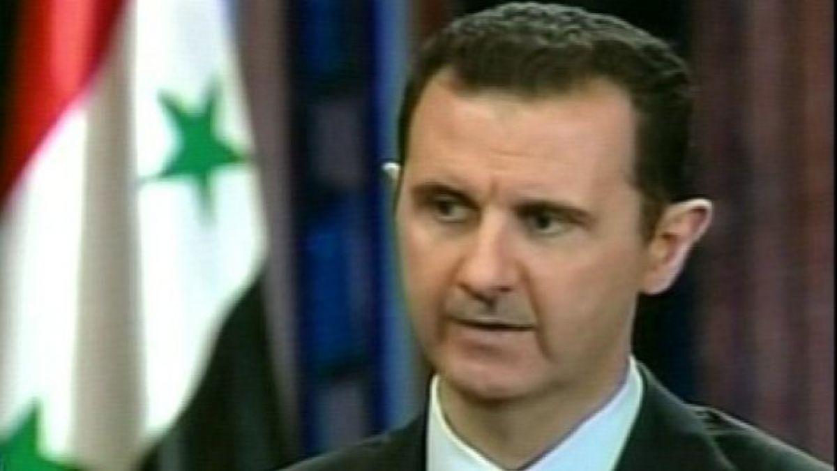 Bashar al Assad: Desarme químico durará un año
