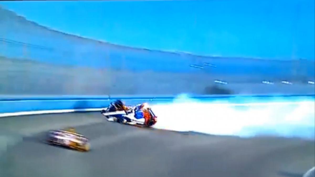 [VIDEO] El grave accidente de un piloto de Indycar que terminó sin lesionados