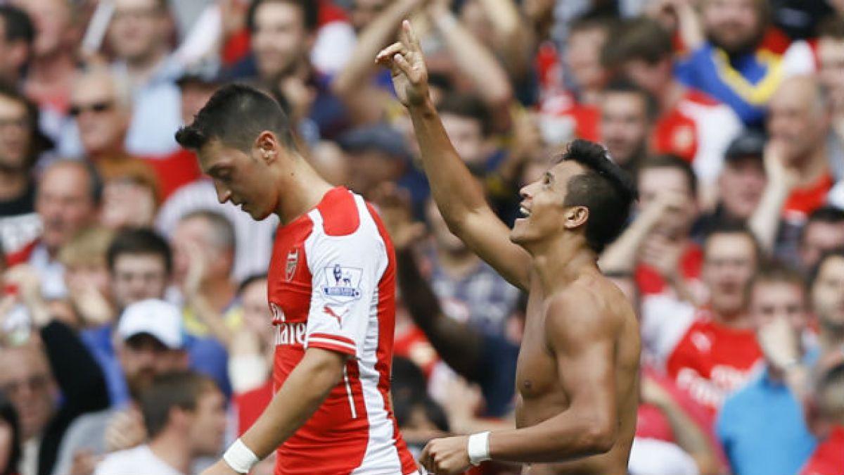 Con golazo de Alexis Sánchez Arsenal empata con el City de Pellegrini