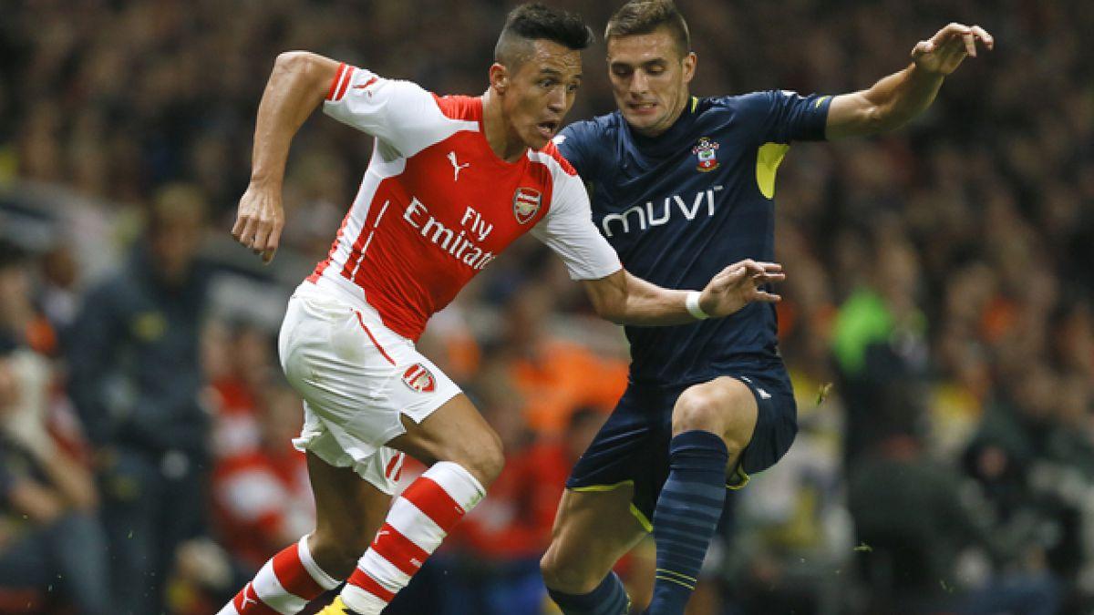 Golazo de Alexis Sánchez no evitó eliminación del Arsenal de la Capital One