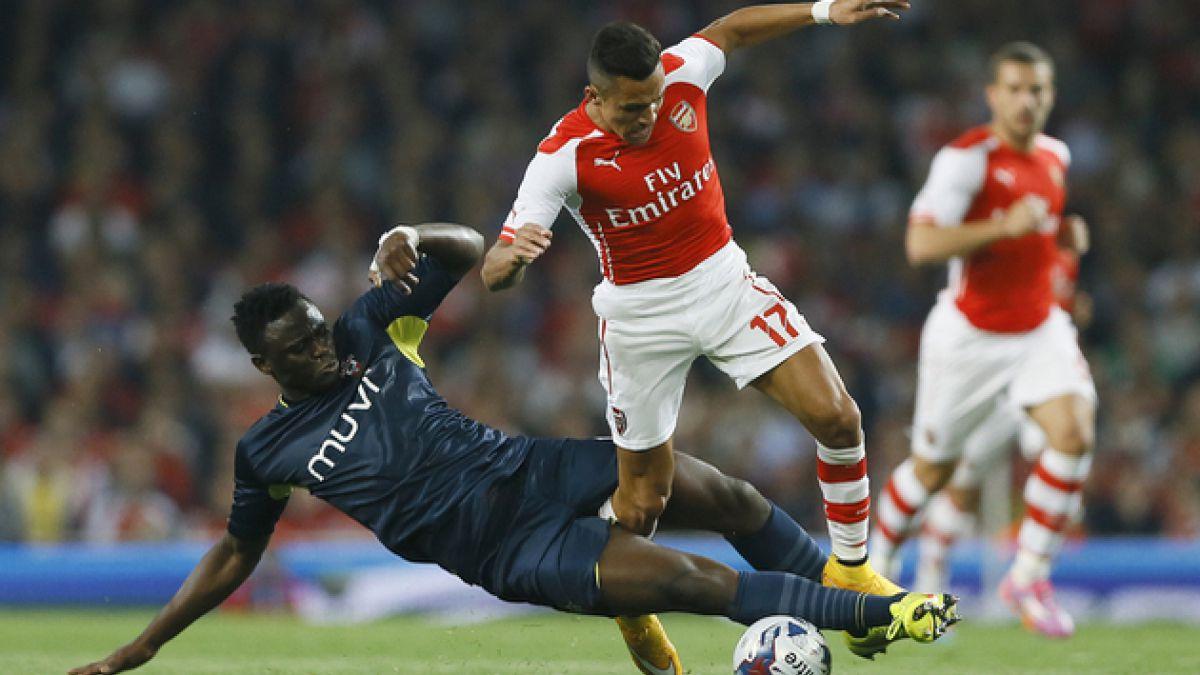 Prensa inglesa apunta que el Arsenal no pudo encontrar el camino pese a los mejores esfuerzos de Ale