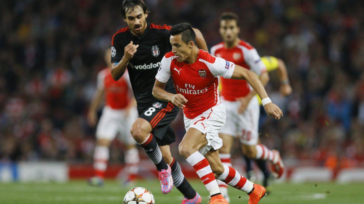[VIDEO] Mira el lujo de Alexis Sánchez que sorprendió a los hinchas del Arsenal