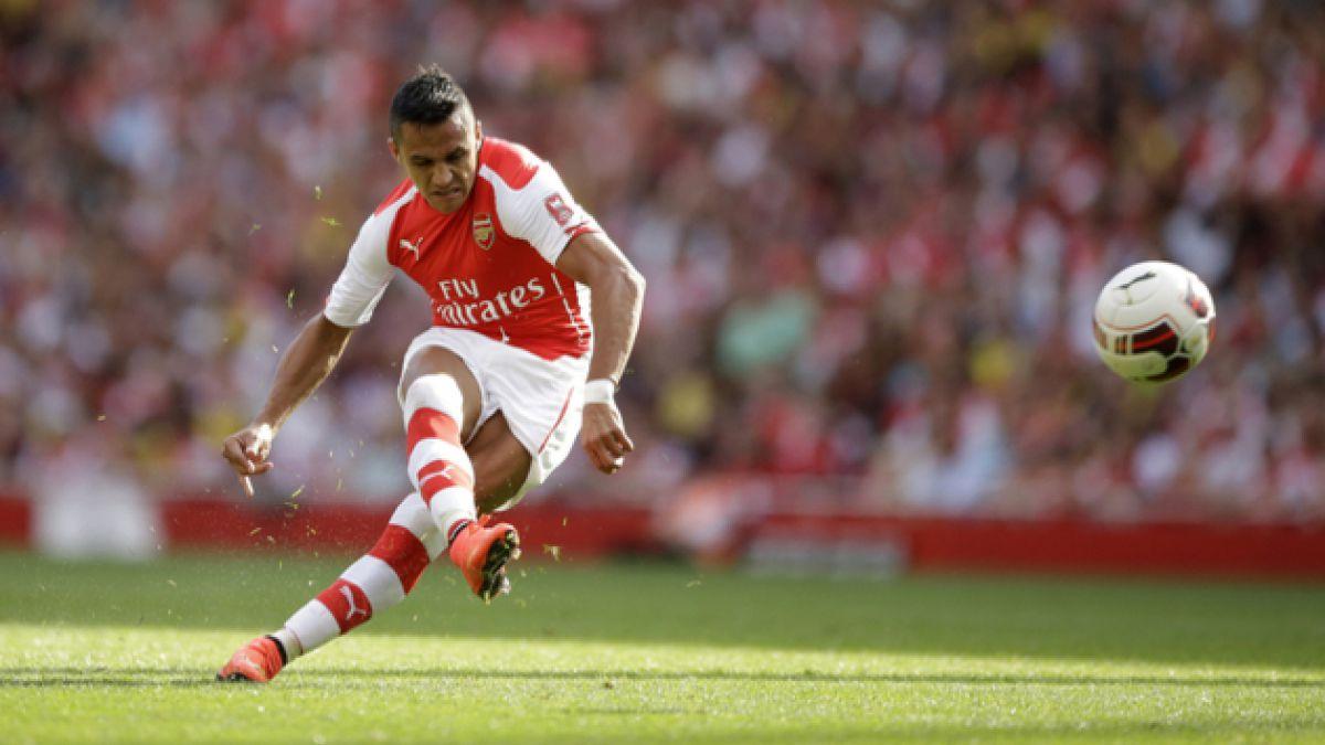 Alexis Sánchez es elegido el mejor jugador de Arsenal en el mes de septiembre