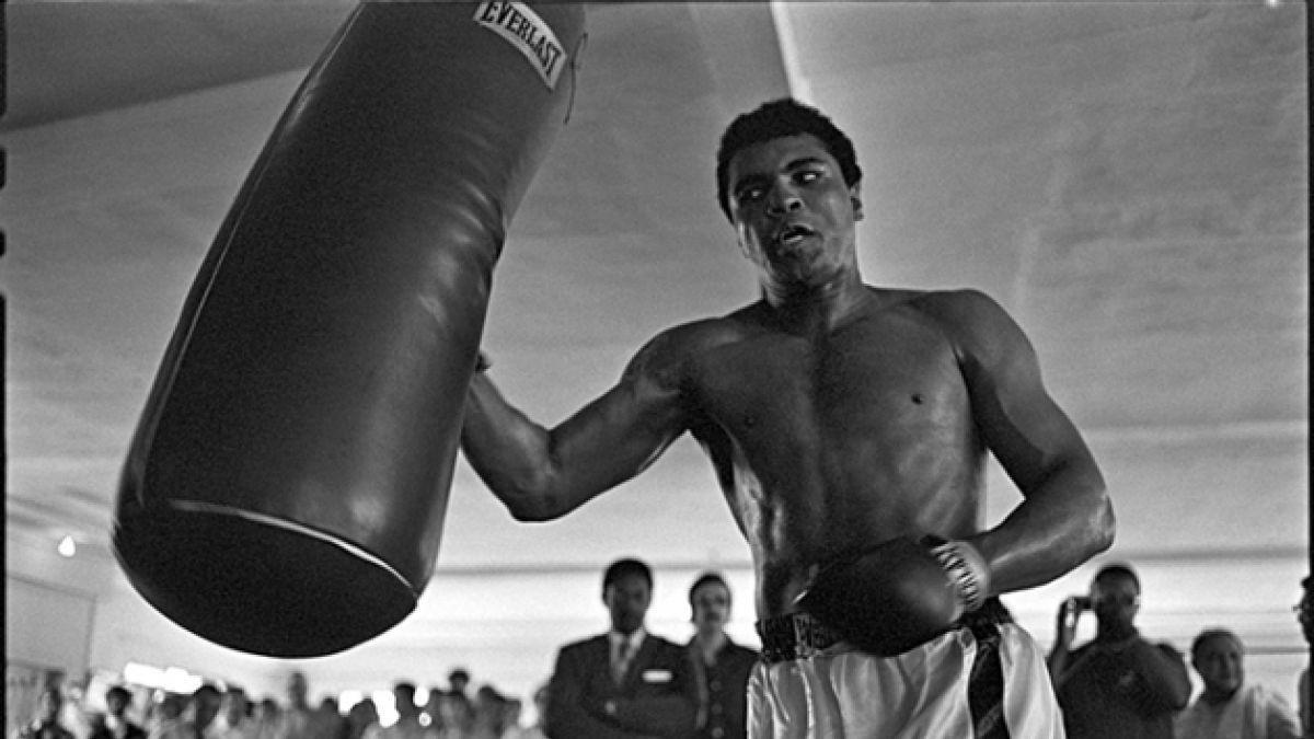 Las fotos nunca antes vistas de Muhammad Ali