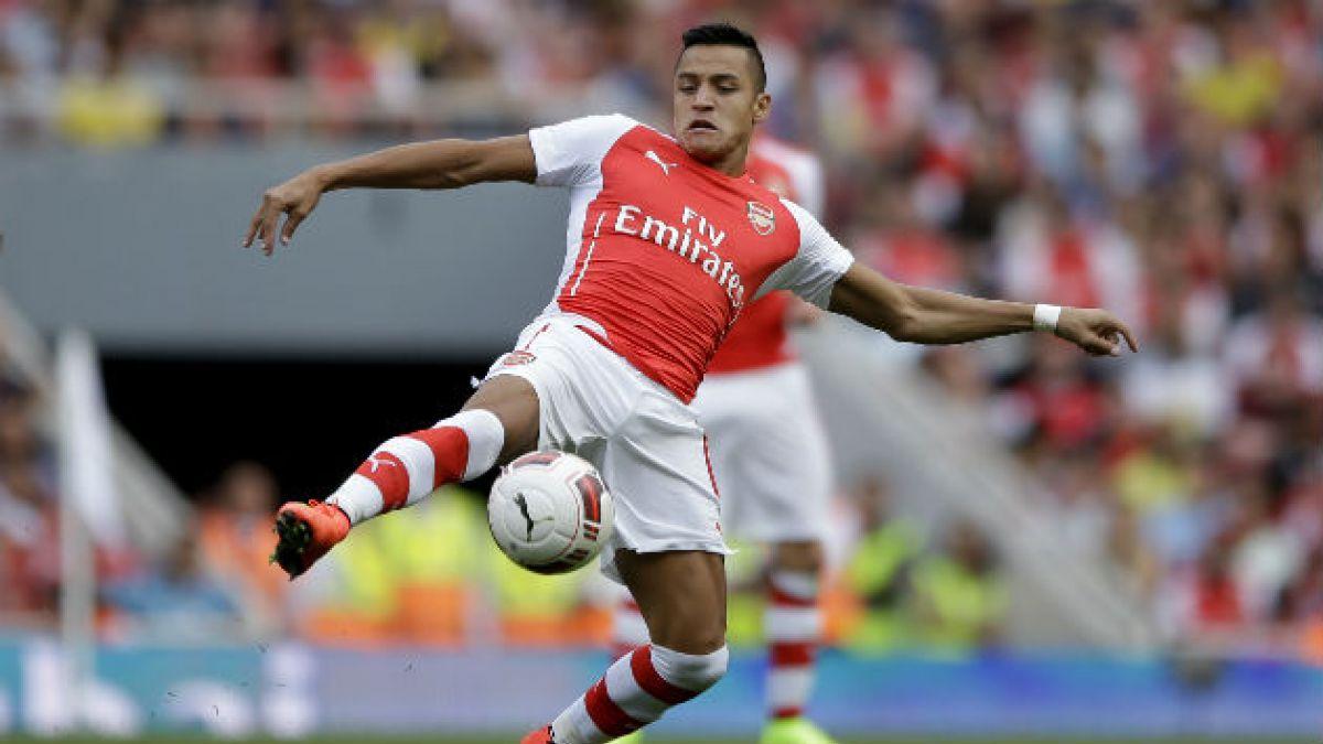 El debut de Alexis Sánchez en la goleada de Arsenal a Benfica