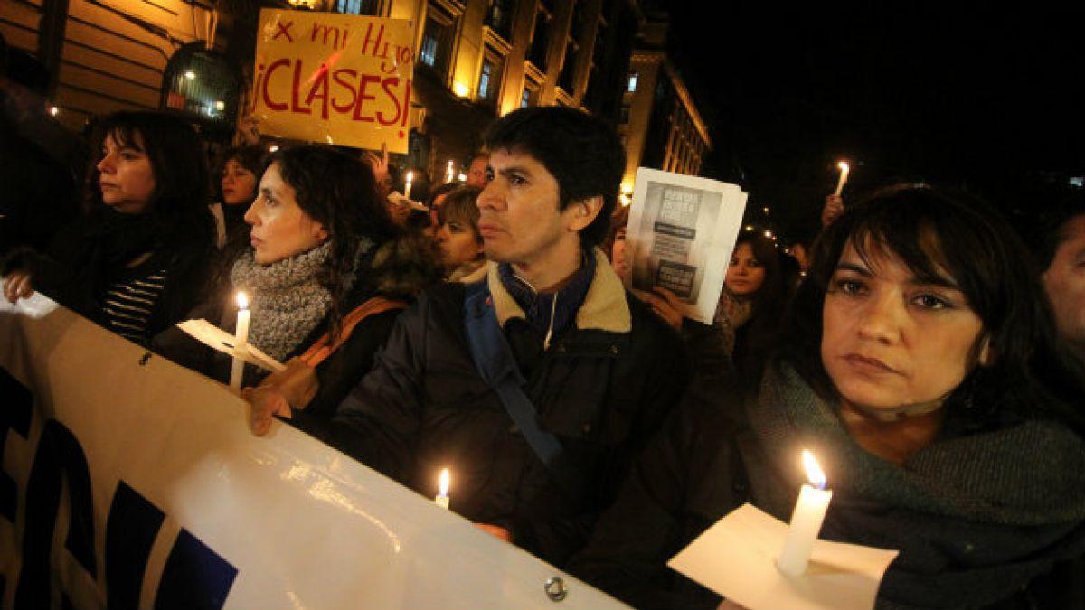 Apoderados realizarán caminata para protestar por reforma a la educación