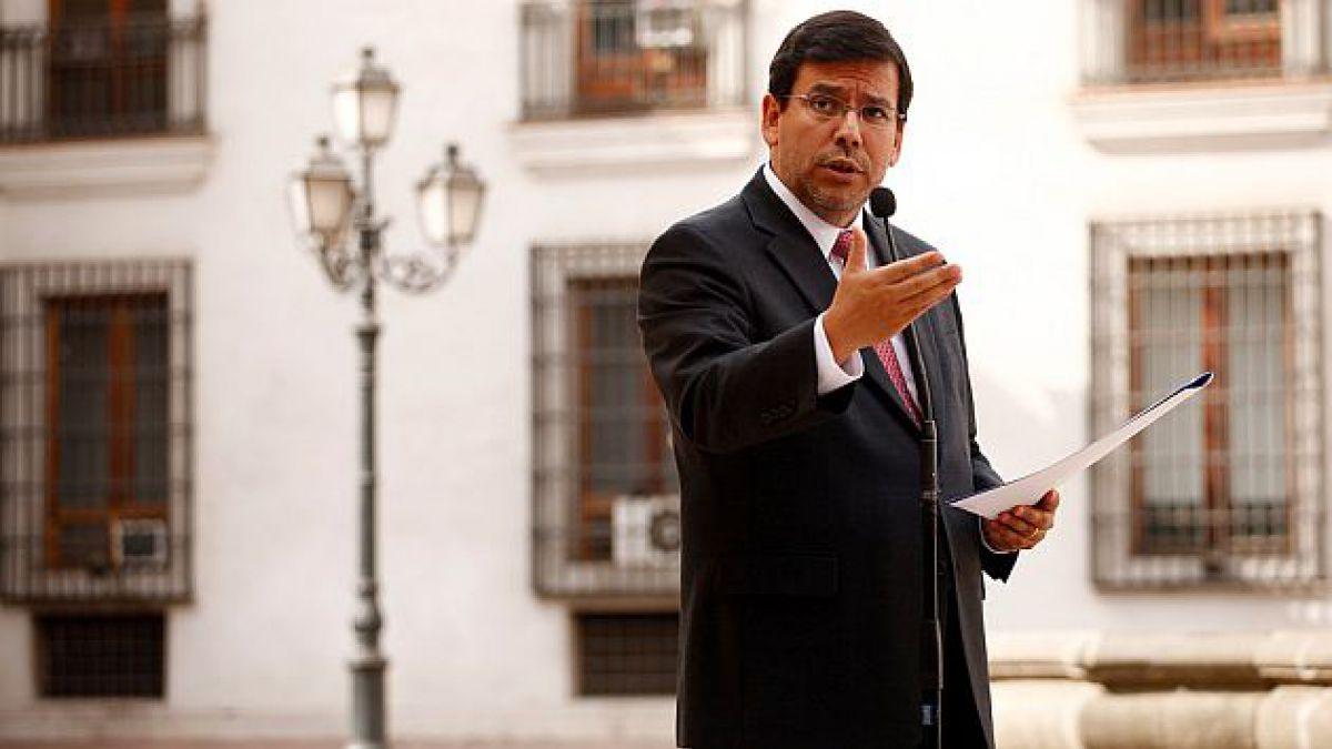 Ministro Arenas recalca que el IPoM no vincula la desaceleración con la reforma tributaria