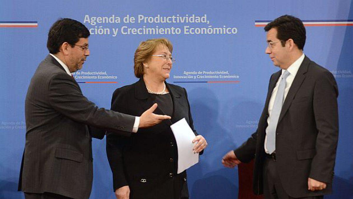 Los siete ejes estratégicos de la agenda pro crecimiento del gobierno de Bachelet
