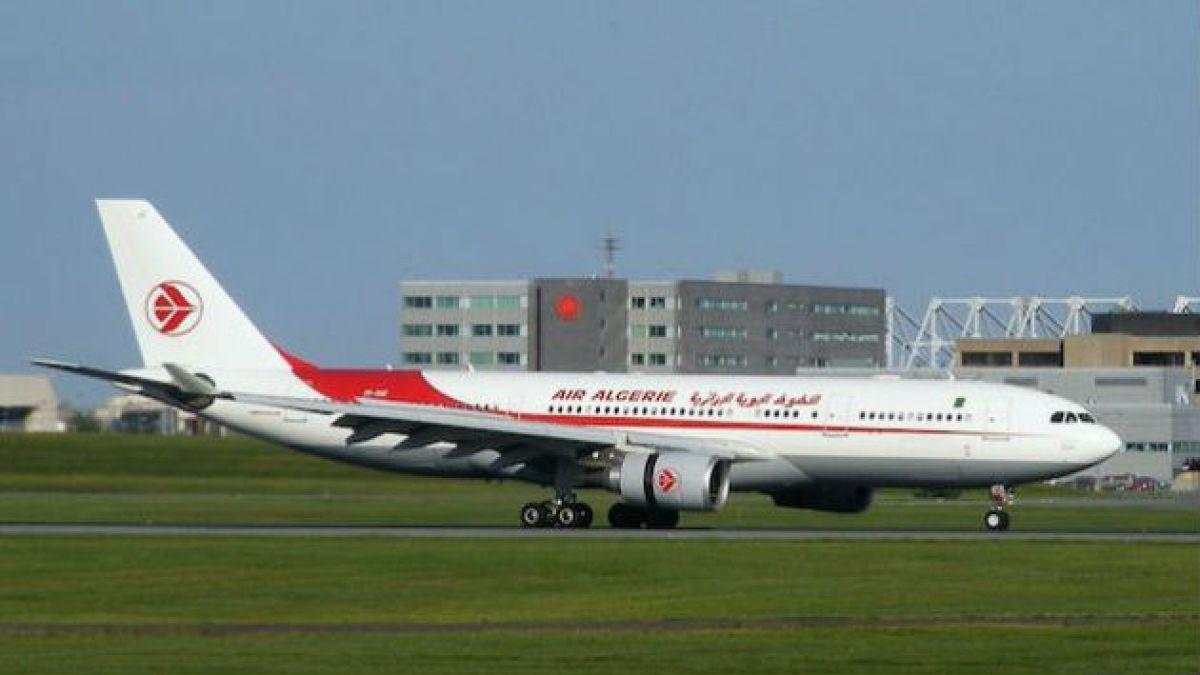 Confirman que avión de Air Algerie se estrelló en Níger