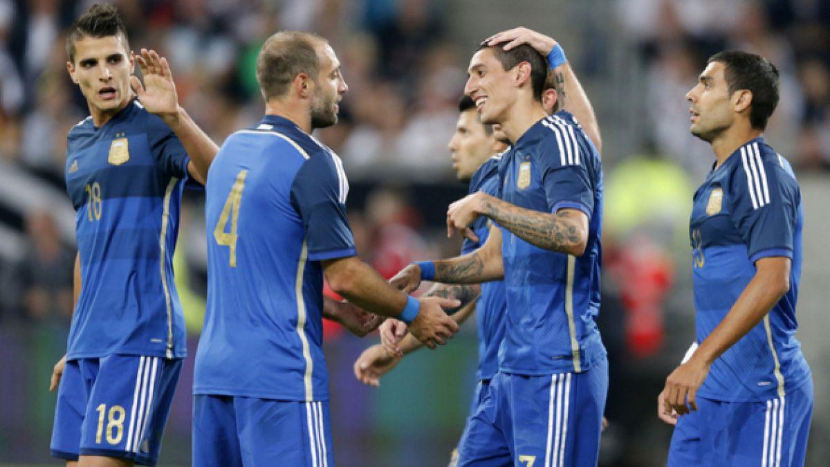 Argentina se toma revancha de Alemania en el estreno de Gerardo Martino