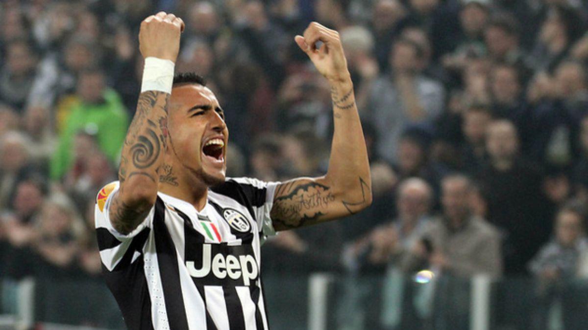 Director deportivo de la Juventus afirma que Vidal no está en venta