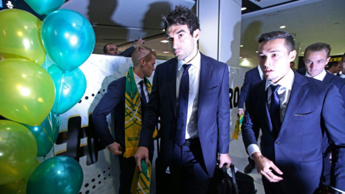 Rival de Chile fue el primer equipo en llegar a Brasil