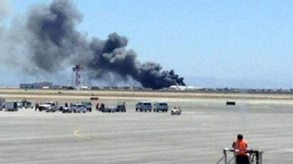 EE.UU.: Boing se estrella con 308 pasajeros a bordo