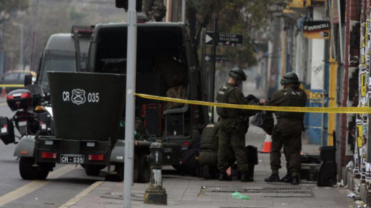 [Pinochet] Descartan aviso de bomba