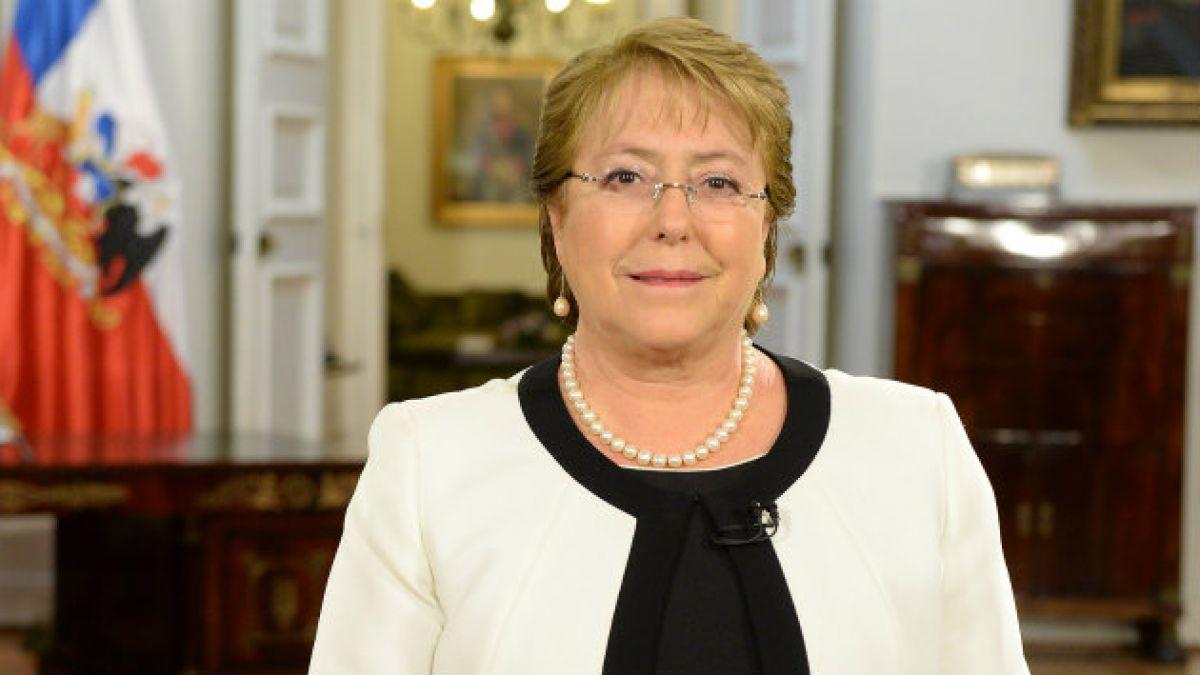 Presupuesto: Bachelet anuncia incremento de 9,8% del gasto fiscal con énfasis en educación, salud e