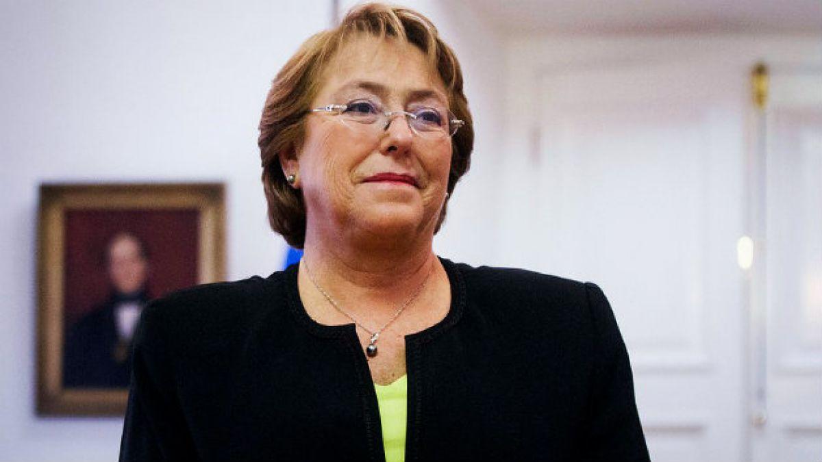 Bachelet destaca aprobación en general de reforma tributaria en la Cámara
