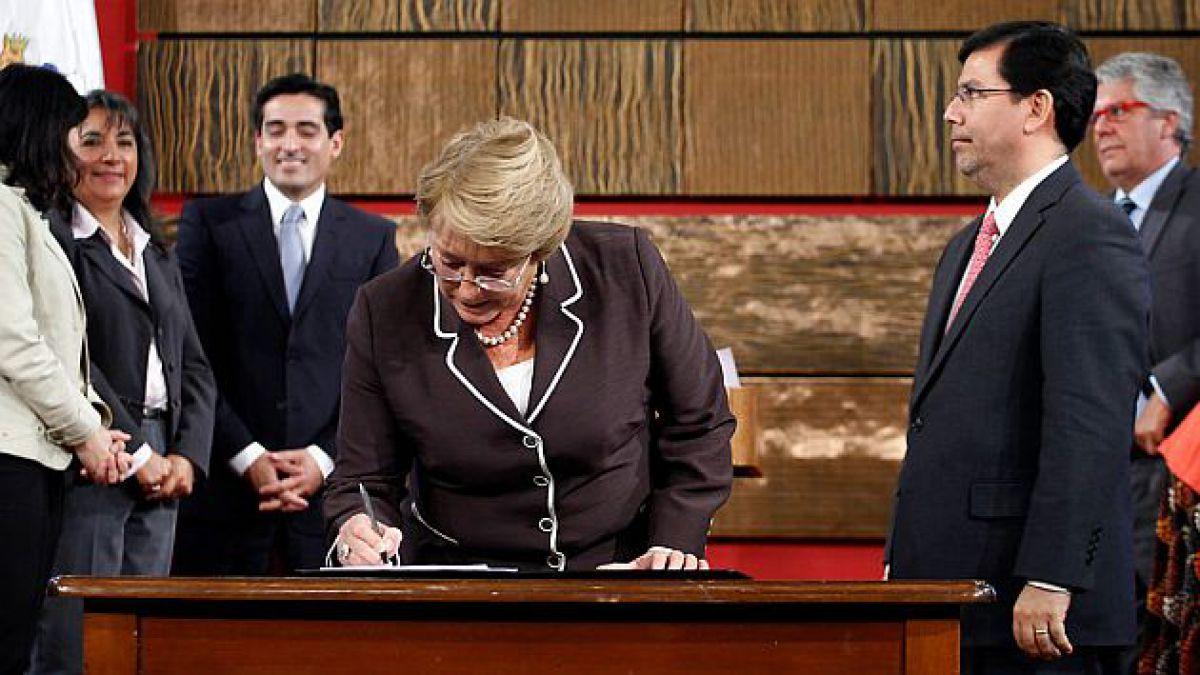 Bachelet anuncia 203 nuevos barrios que se sumarán al programa Quiero mi barrio