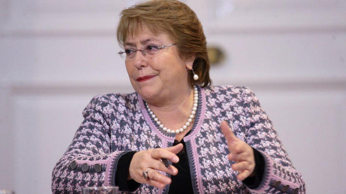 Bachelet: No nos temblará la mano frente a acciones como esta