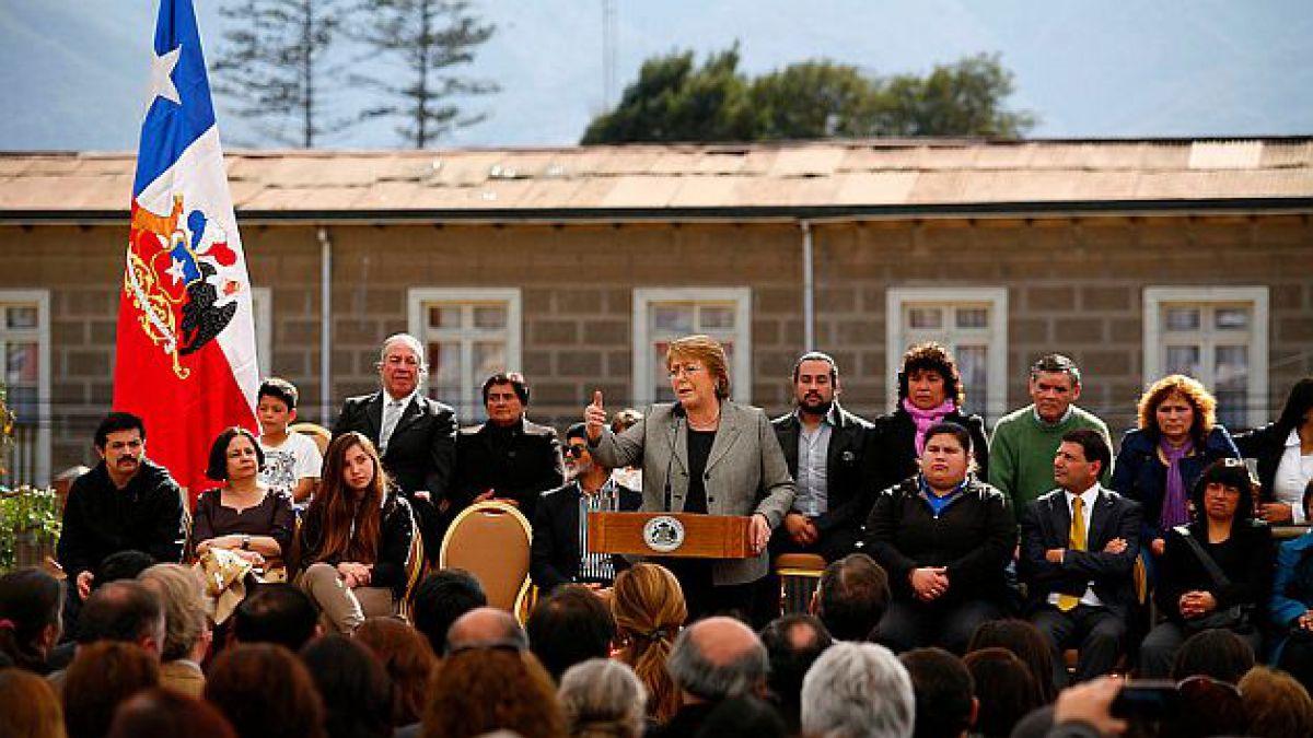 Presidenta Bachelet anuncia ubicación de los 15 nuevos centros de desarrollo artístico para jóvenes