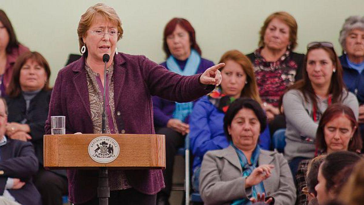 Presidenta Bachelet anuncia implementación de 500 nuevas salas cunas