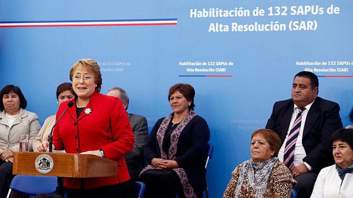 Presidenta Bachelet anuncia habilitación de 132 SAPU de alta resolución