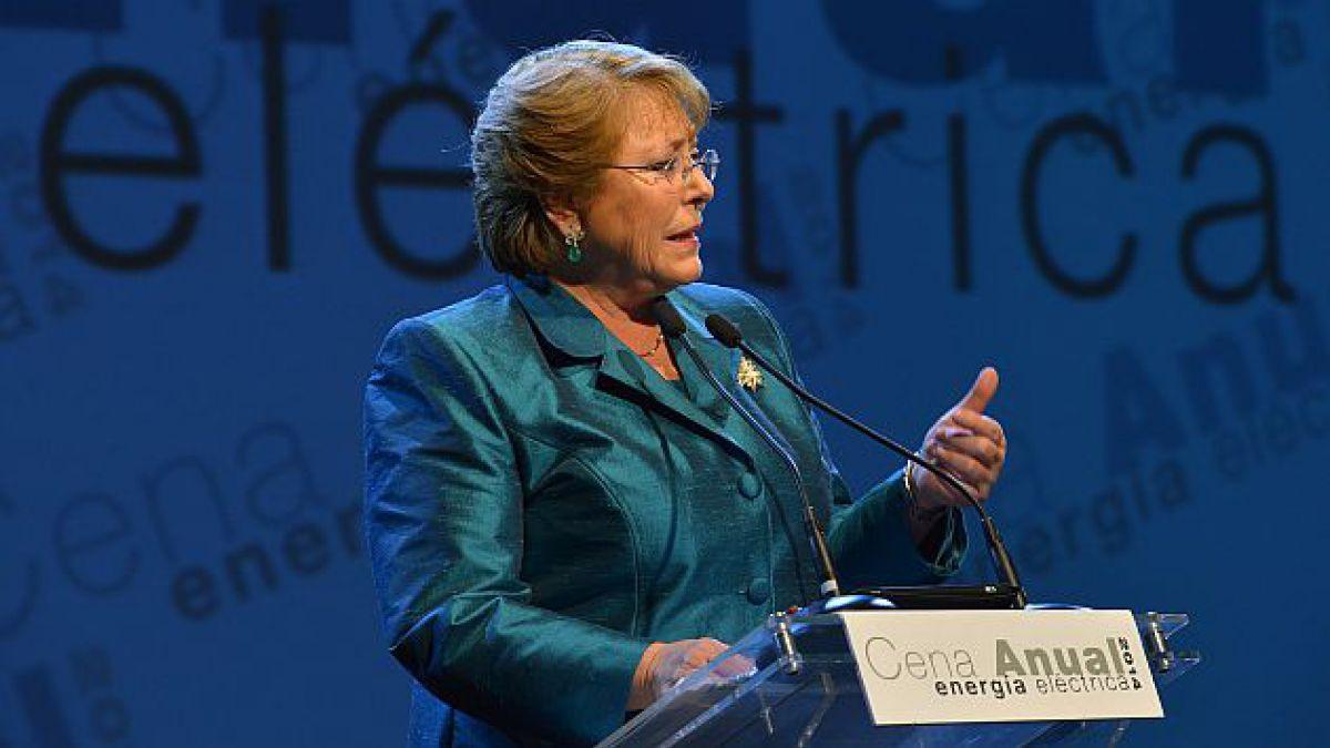 Bachelet por energía: Este gobierno apoyará decididamente a las iniciativas que cumplan con la norm