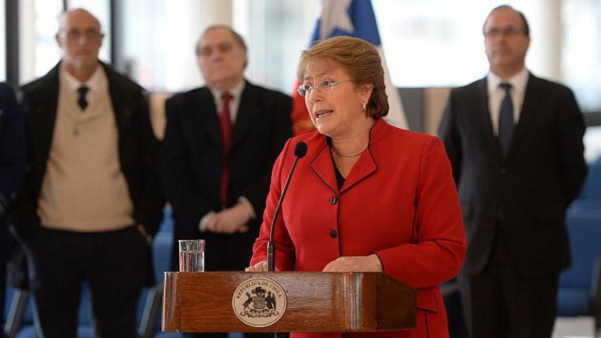 Presidenta Bachelet presenta agenda de infraestructura que contempla inversiones por US$27.900 millo