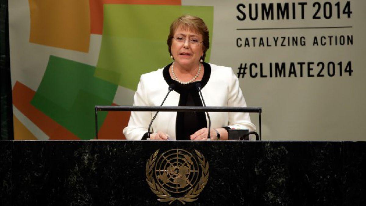 Los argumentos con que Bachelet defendió ante la ONU la agenda de reformas en Chile