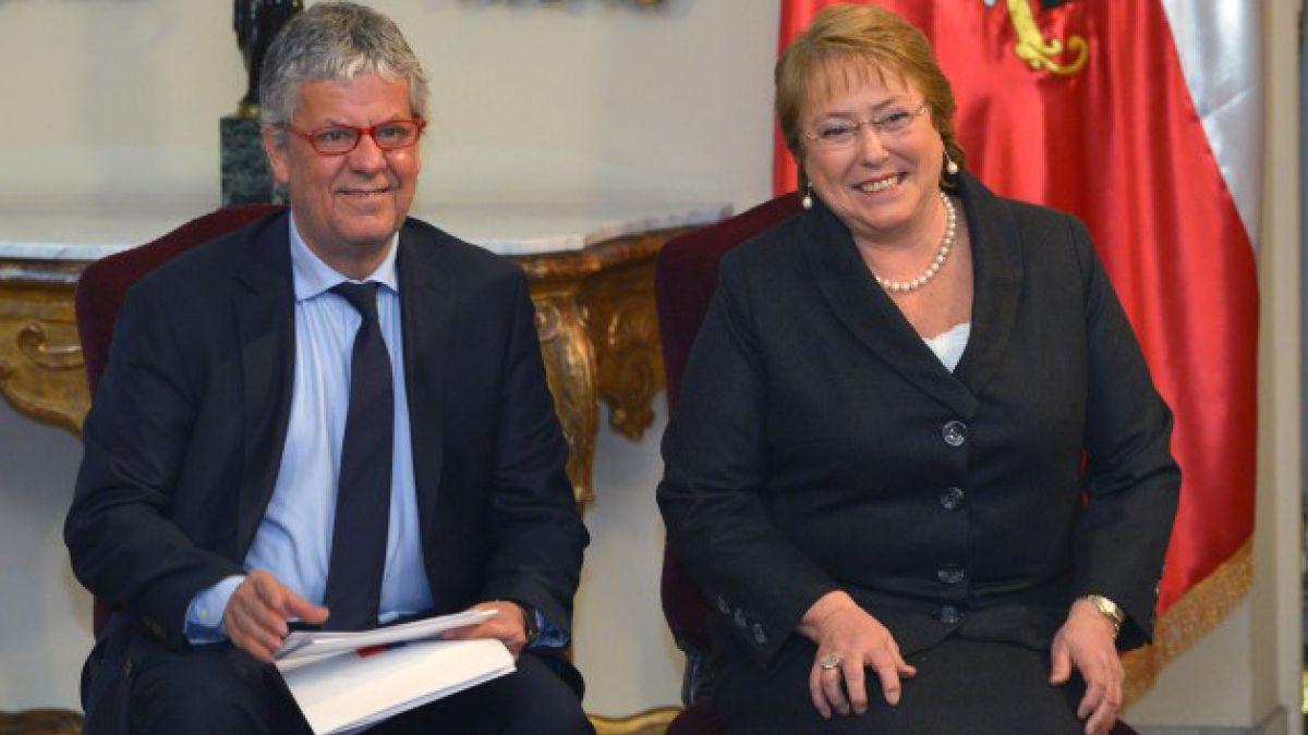 Bachelet destaca avance en proyecto de fin al lucro, copago y selección: Trabajamos incansablemente