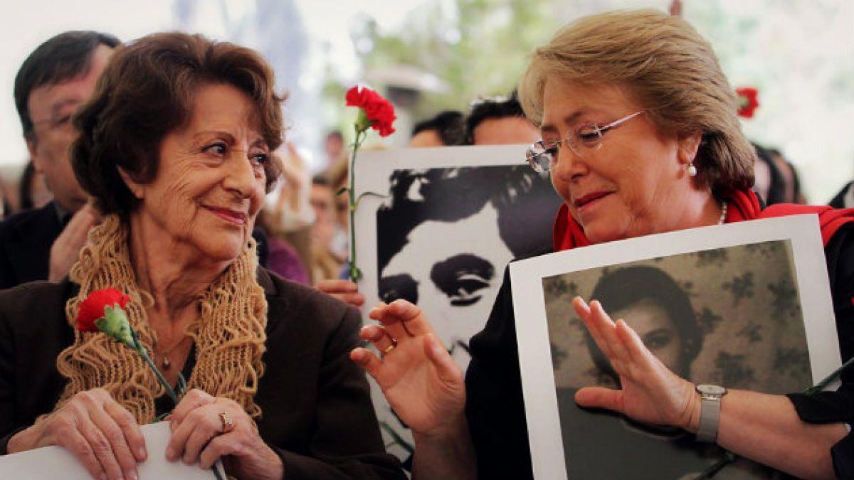 Bachelet en entrevista con Angela Jeria: Mi mamá es mi aliada, admiro su valentía