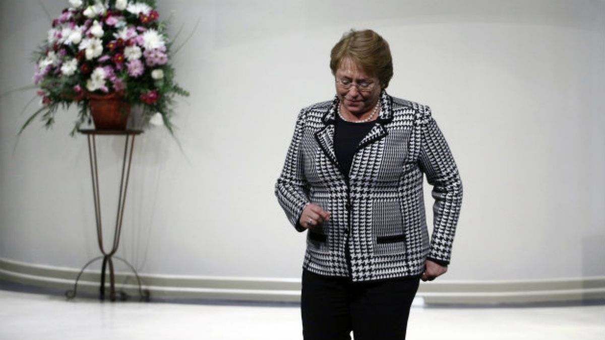 Bachelet: El aborto será despenalizado este año
