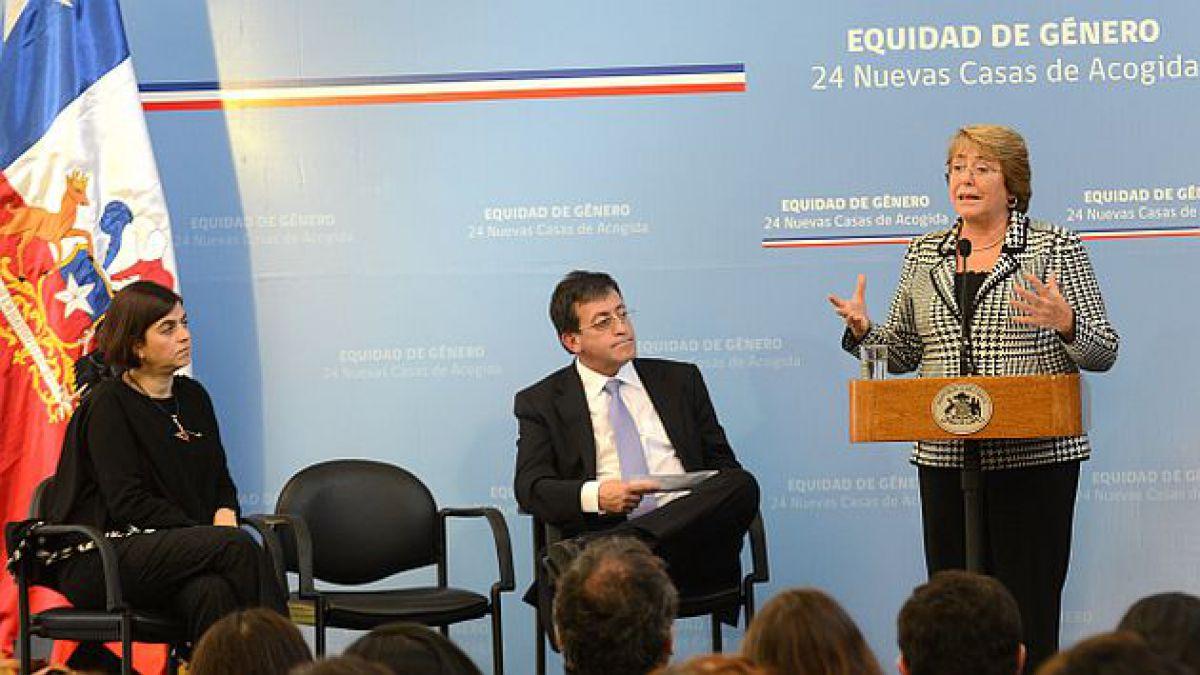 Bachelet da a conocer ubicación de 24 nuevas casas de acogida para víctimas de violencia intrafamili
