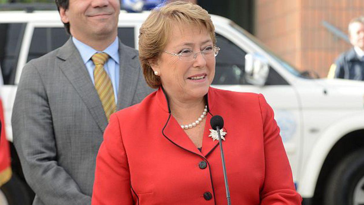 Bachelet dice que indicaciones a reforma tributaria buscan  corregir algunas cosas que nos han hech