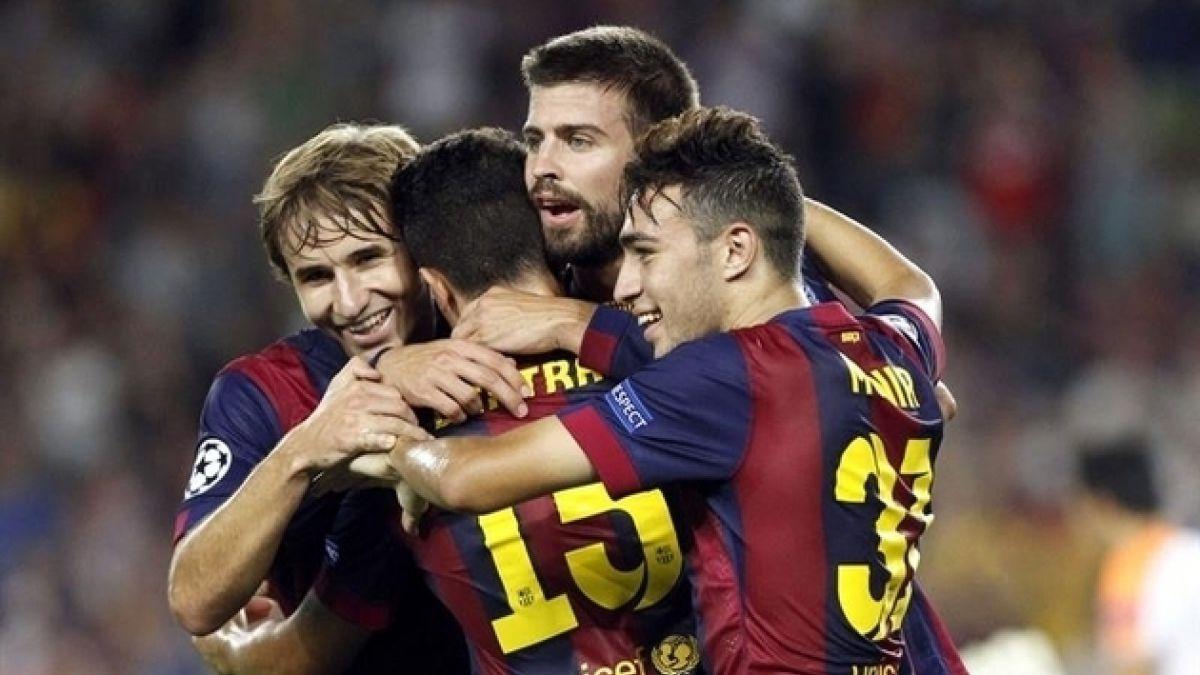Sin Claudio Bravo, Barcelona venció al Apoel en un deslucido partido