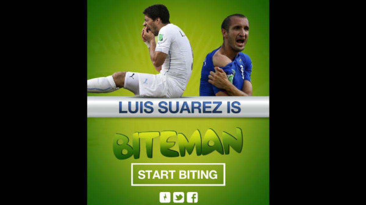 Luis Suárez ya tiene juego inspirado en Pacman
