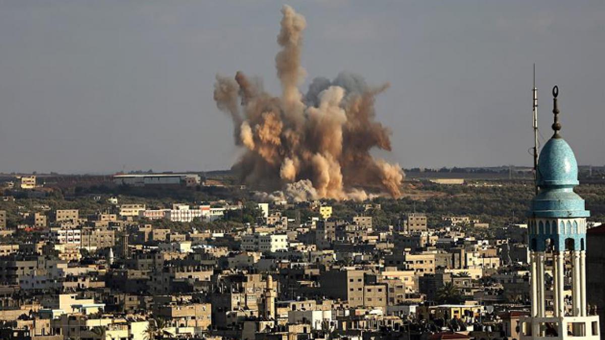 Nuevos bombardeos aéreos de Israel sobre Gaza dejan 8 fallecidos y decenas de heridos