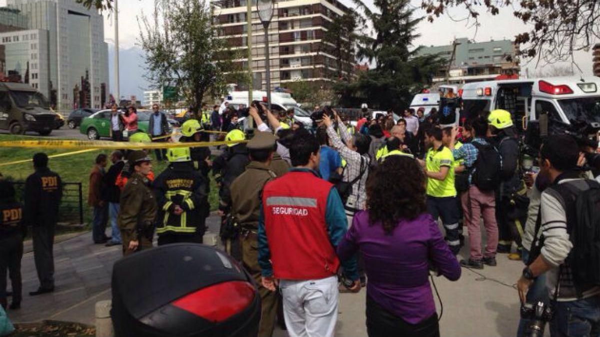 [MAPA] Las Condes se transforma en la segunda comuna de Santiago con más atentados en 2014