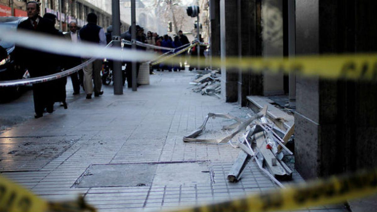 [Mapa] Comuna de Santiago concentra 30% de bombazos y ataques incendiarios en 2014