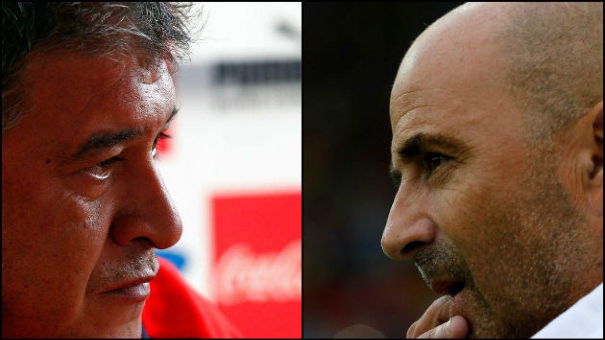 El historial de polémicas entre Claudio Borghi y Jorge Sampaoli