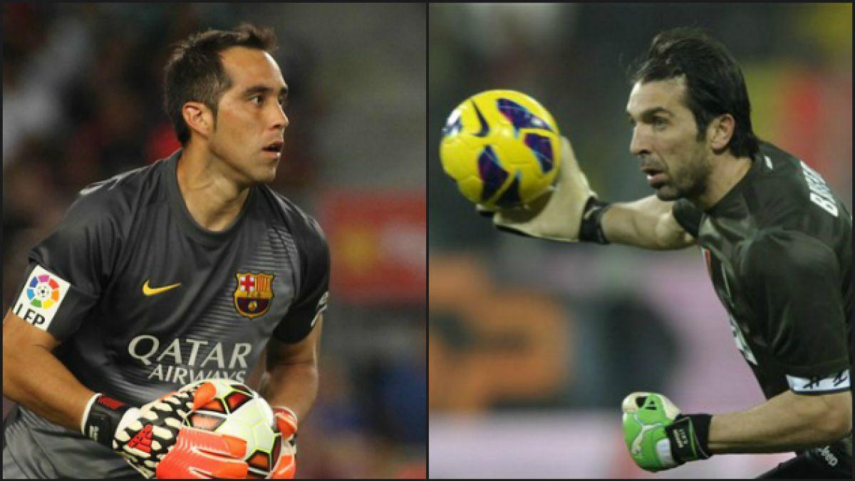 Bravo y Buffon: Los dos únicos líderes imbatidos de las grandes ligas europeas