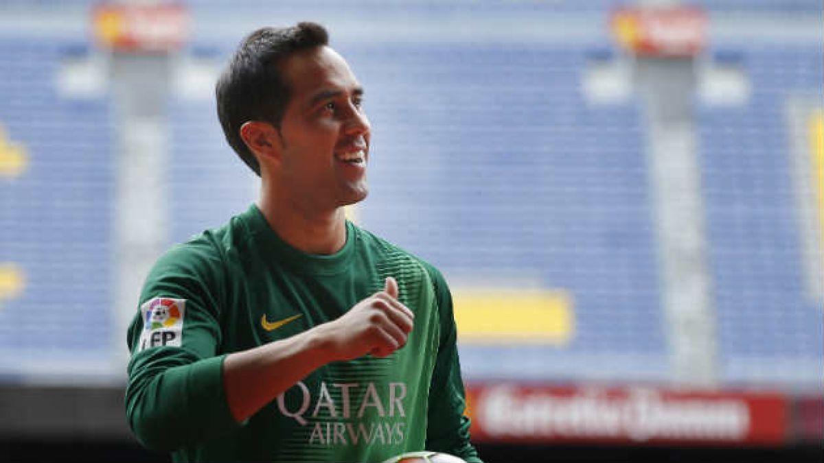Claudio Bravo: Alexis me contó maravillas del Barcelona