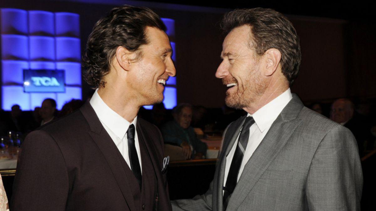 7 razones que hacen del duelo Bryan Cranston y Matthew McConaughey lo más interesante de los Emmy