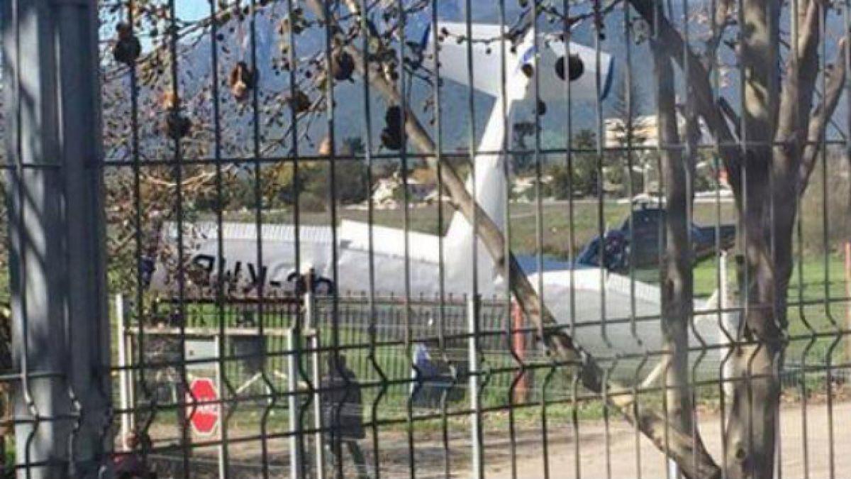 Avioneta cae en cercanías de peaje de Melipilla