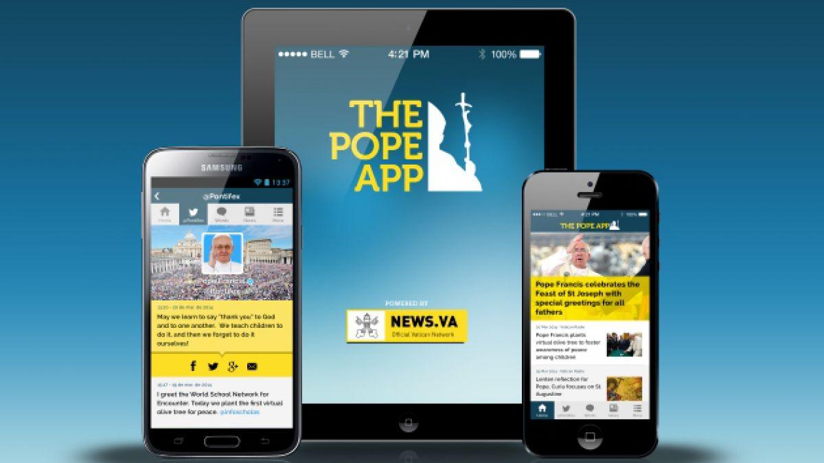 The Pope App, la aplicación para smartphones aprobada por el Papa